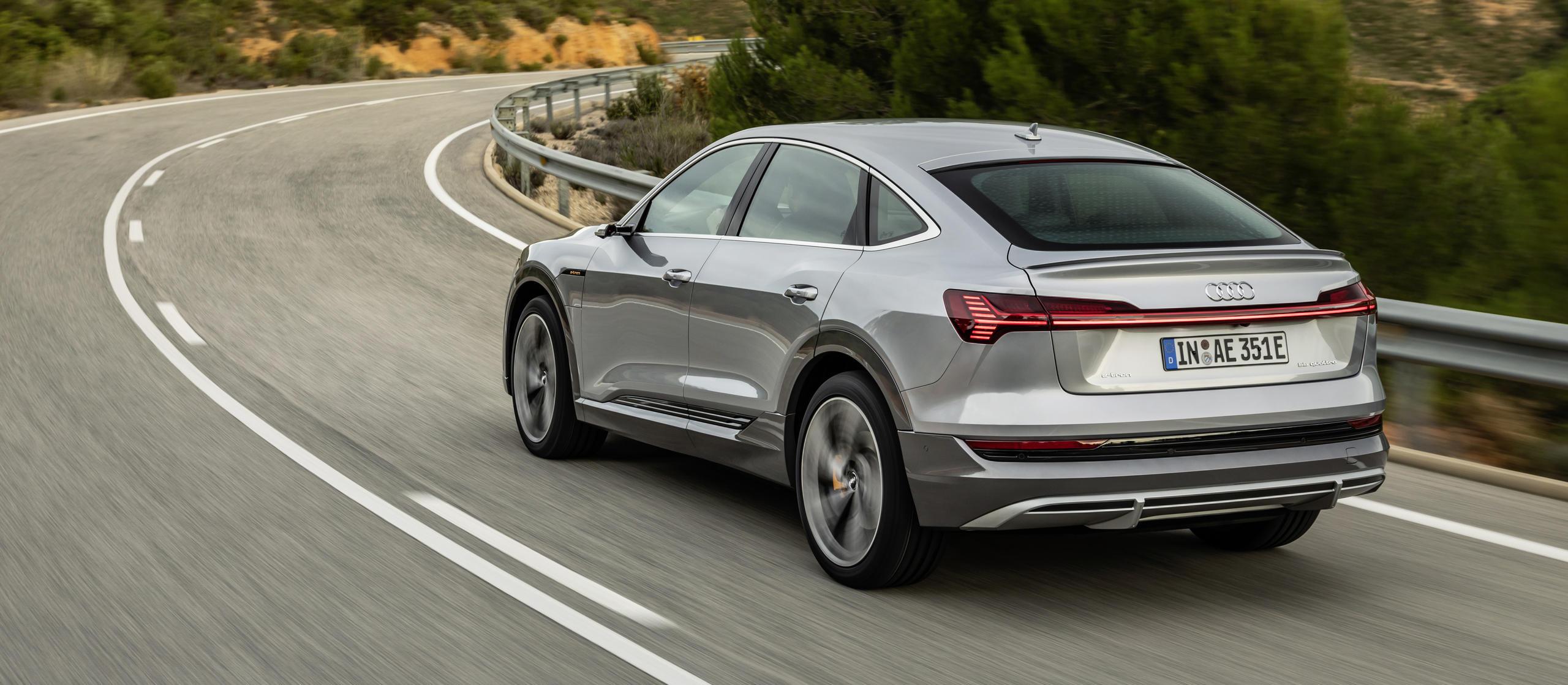 Audi e-tron 2021 22 kW laden laadvermogen 3-fase