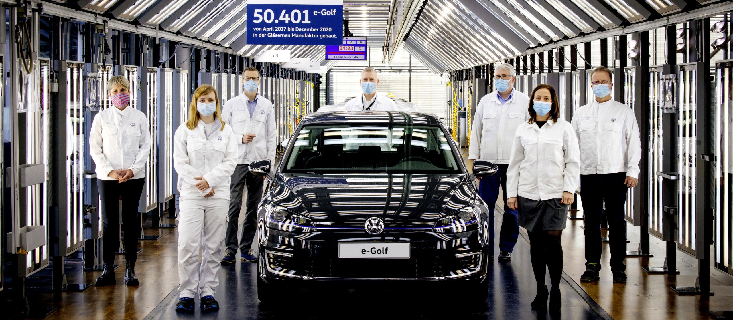 productie Volkswagen e-Golf