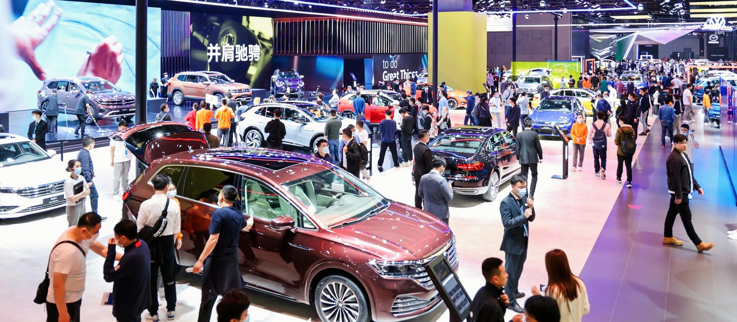 shanghai auto show nieuws