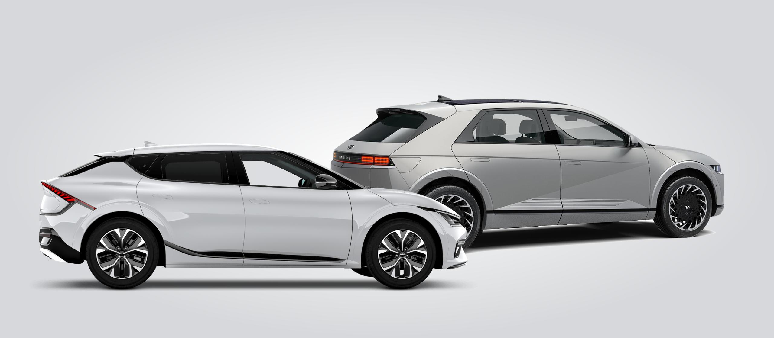 Hyundai Ioniq 5 en Kia EV6