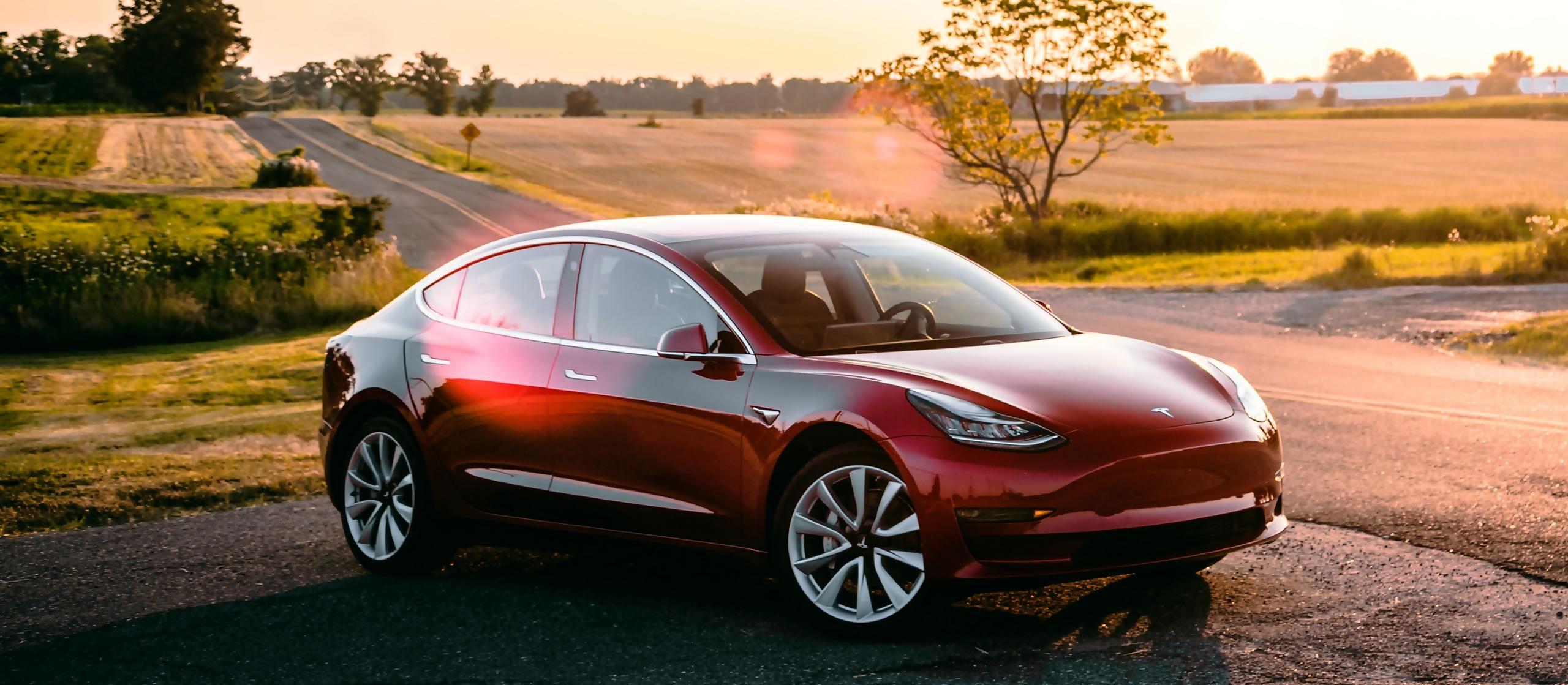 werking elektrische auto Tesla
