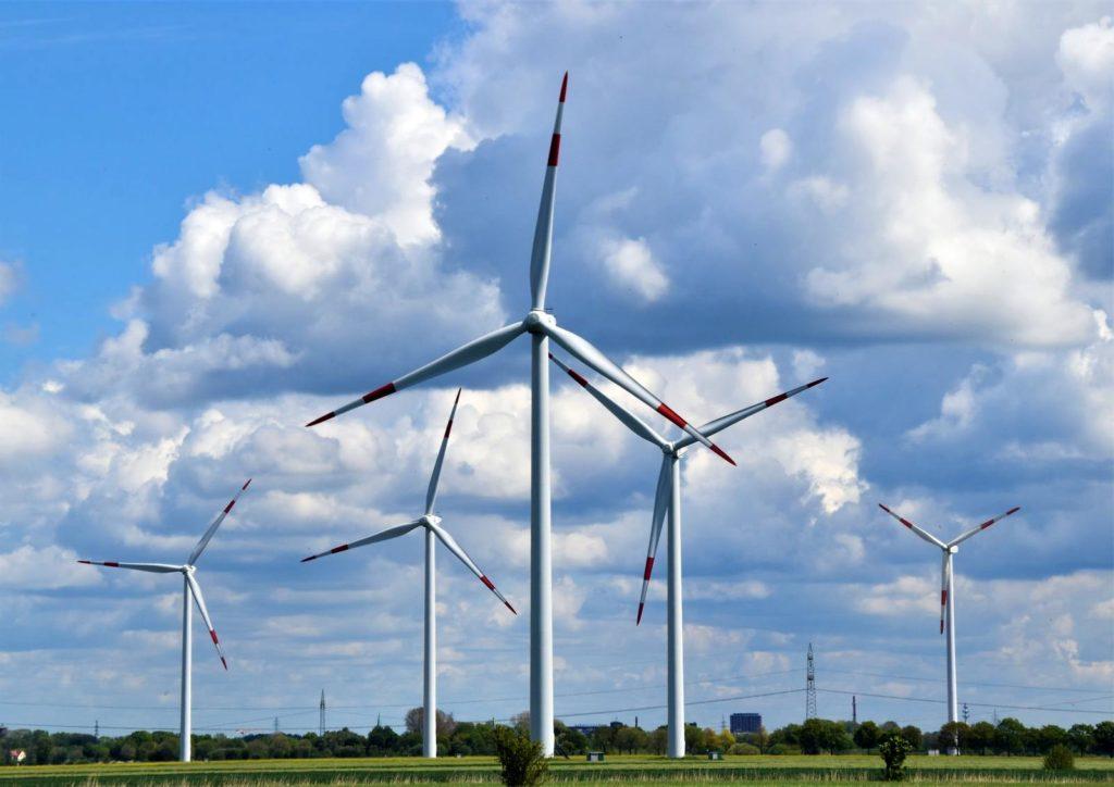elektrische auto energie windmolens